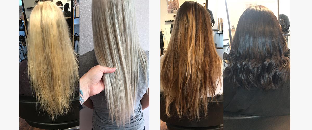 vegansk hårfarve